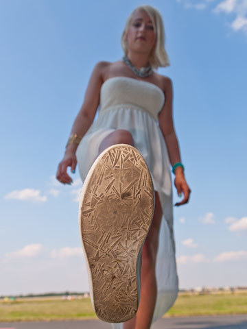 Süße Füße von Fußmodel Giantess Nicole